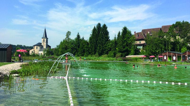 Les Echelles – La piscine « naturelle » Rivier'Alp
