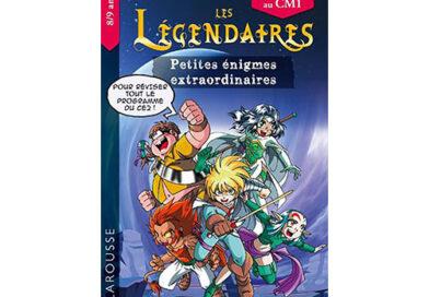 Livre-jeu – Réviser avec les héros des Légendaires