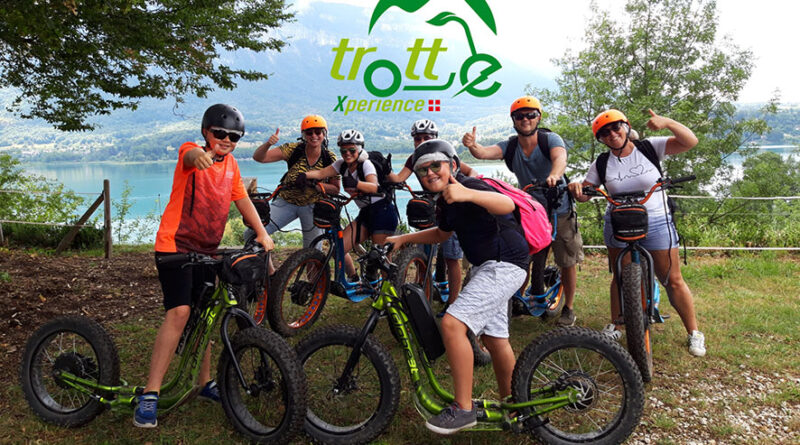 Trottinette tout terrain Isère Savoie