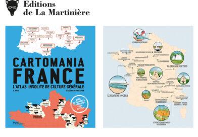 Parution d'un «atlas insolite» de la France